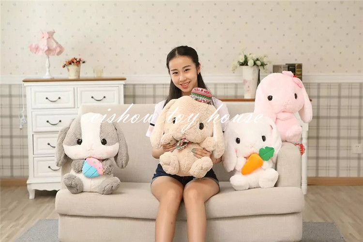 Kawaii Kids Plush Toys Japanese Anime Cartoon Character Amuse Doll Cute Adorable Bunny Soft Christmas Birthday Holiday Gift Girl 2016 new super mario plush 17cm one piece anime soft yoshi plush cute lovely doll kids gift