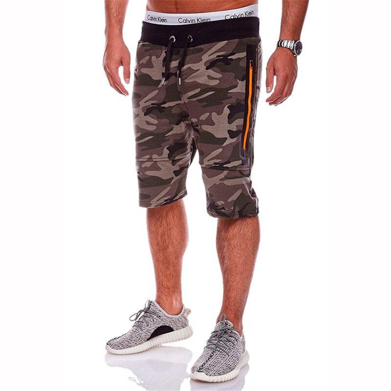Pantalones Cortos Hombres Bermuda Masculina Camuflaje Pantalones - Ropa de hombre