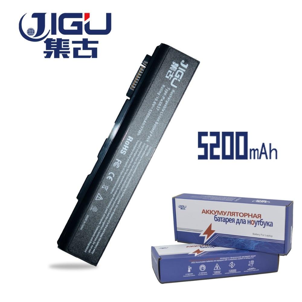 JIGU ноутбук Батарея PA3788U-1BRS PABAS223 для Toshiab Tecra A11 M11 S11 серии PABAS223 спутниковый Pro S500 S750