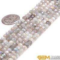 AAA Grade 3x5mm et 4x6mm Rondelle Spacer Perles À Facettes Pierre Naturelle Perles en Vrac de BRICOLAGE perles Pour Bijoux Faire Strand 15 Pouce