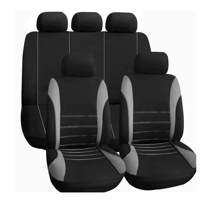 car seat cover seat covers for Hyundai santa fe solaris sonata tucson 2017 2016 2015 2014 2013 2012 2011 2010 2009 2008 2007 quality for hyundai new santa fe 2006 2007 2008 2009 2010 2011 2012 rear trunk security shield cargo cover black 5 seat