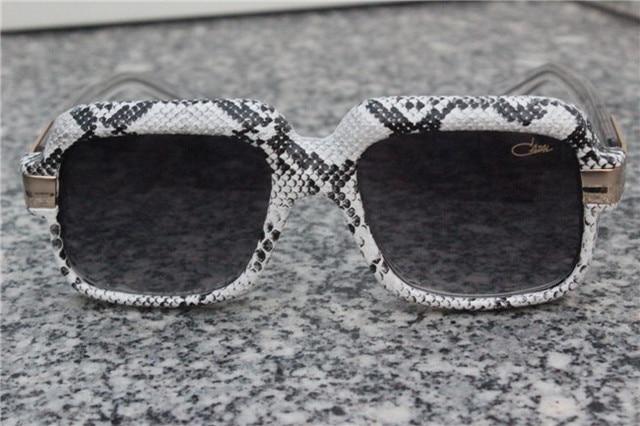 6e3c9b984418fd Caz 607 lunettes légende VINTAGE serpent peau CRYSTAL CLEAR RUN DMC nouveau  authentique