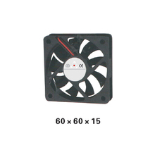 5pcs/ lot 60 Type Airflow DC12V Axial Oil bearing Fan  60*60*15mm Axial Brushless Cooling Fan for Electric Cabinet XFS6015 все цены