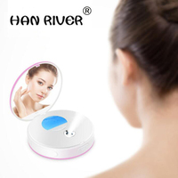 High quality nano moisturizing replenisher cold spray steamed face portable with a mirror facial beauty instrument USB charging