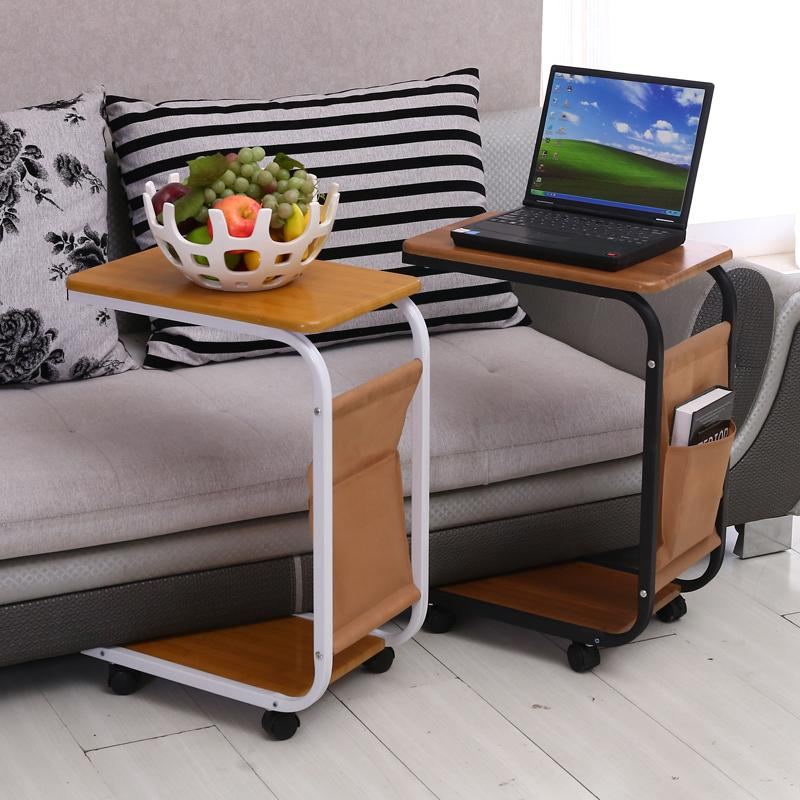 Charmant Simple Sofa Laptop Desk With Wheels To Facilitate Small Desk Desk Movable  Tables Bedside Tables In Lapdesks From Computer U0026 Office On Aliexpress.com  ...