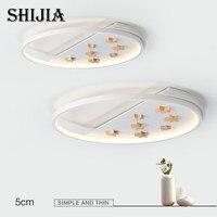 Потолочный светильник светодиодный Современный простой коммерческий светильник для кухни спальни гостиной ванной комнаты освещение дома