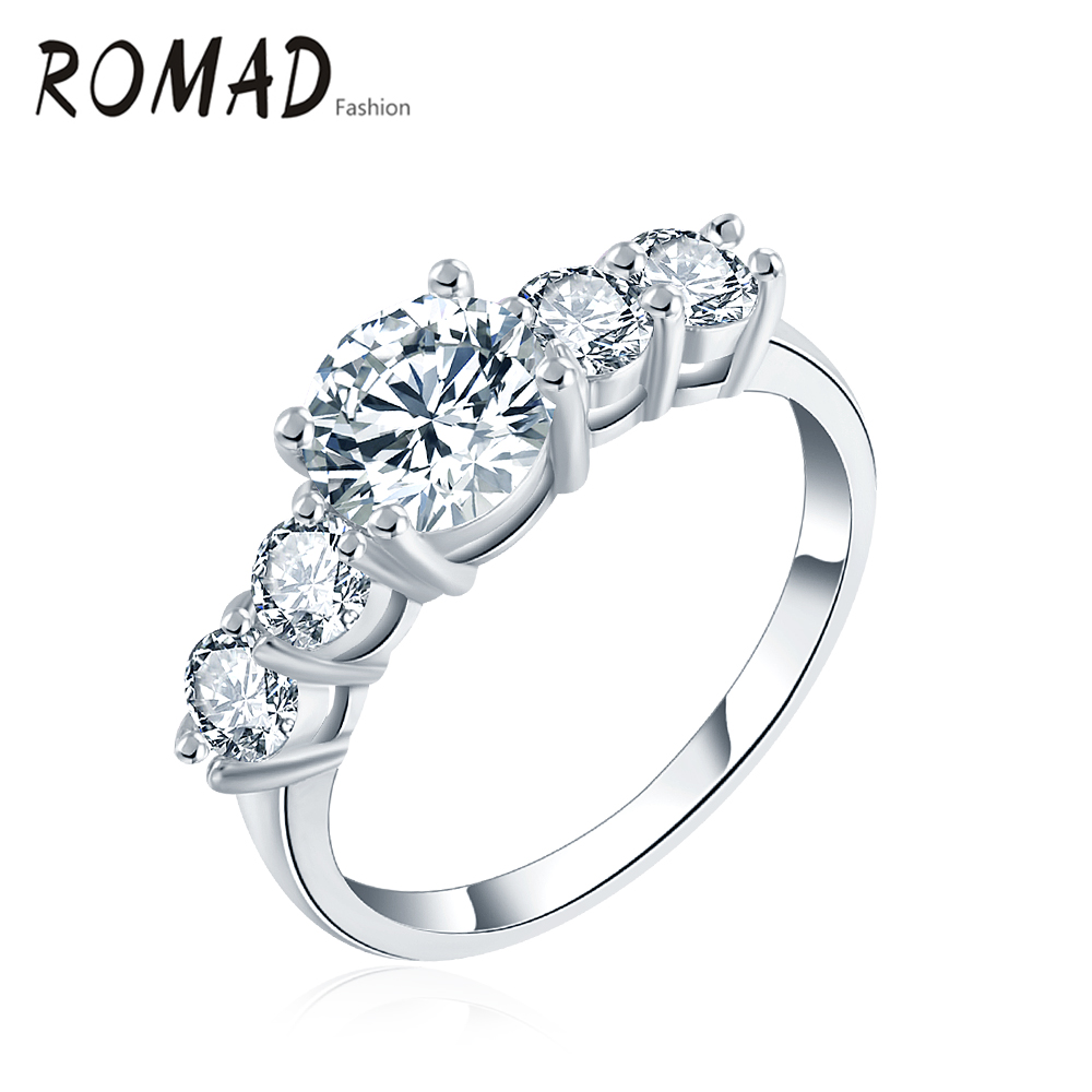 infinity diamond wedding band One Tiny Diamond Ring Set Simple Wedding Rings Sterling Silver Engagement Ring Set Matte Finish Simple Diamond Ring Modern 2 mm