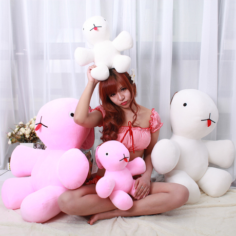 ФОТО New authentic Ricky Rabbit, Bunny dolls, plush toys rabbit ear fold, Hoffman new work, dolls (50cm)