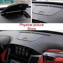 Tonlinker 1PCS Car Style ABS Dashboard Modification Control Storage Box Cover Case Stickers for Chevrolet Cruze Sender/Hatchback