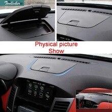 Tonlinker 1 шт. автомобиля Стиль ABS приборной панели модификации Управление Коробка Для Хранения Чехол Наклейки для Chevrolet Cruze Sender/хэтчбек