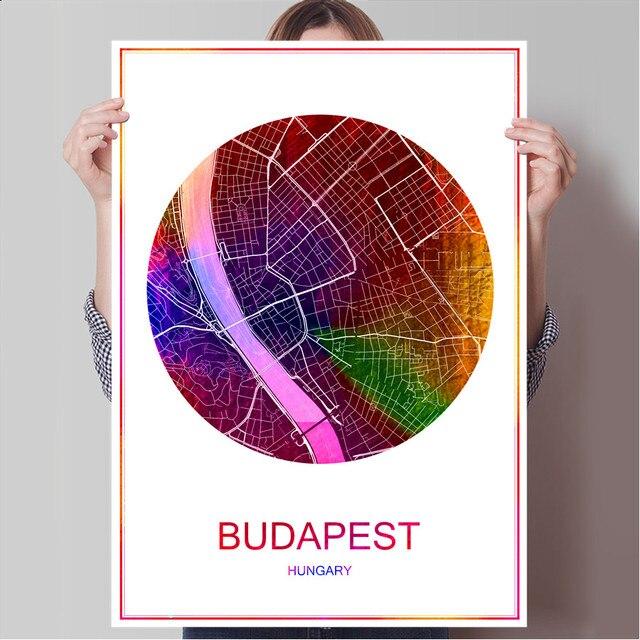 mapa de budapeste para imprimir BUDAPESTE Hungria Famosa Cidade Do Mundo Mapa Imprimir Imprimir em  mapa de budapeste para imprimir