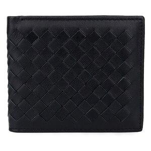Image 5 - COMFORSKIN luksusowa marka Billetera Masculina ręcznie robiona na drutach skóra owcza męska torebka wysokiej jakości portfele na karty dla mężczyzn