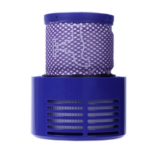 Washable Big Filter Unit For Dyson V10 Sv12 Cyclone Animal Absolute Total Clean Cordless Vacuum Cleaner, Replace Filter washable filter unit for dyson v10 sv12 replacements cyclone animal absolute total clean vacuum cleaner