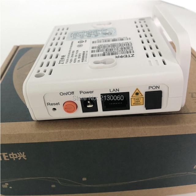 شحن مجاني ZTE F601 GPON محطة ONT البصرية محطة 1GE ميناء نفس وظيفة ZTE F401 F643 F660 ONU