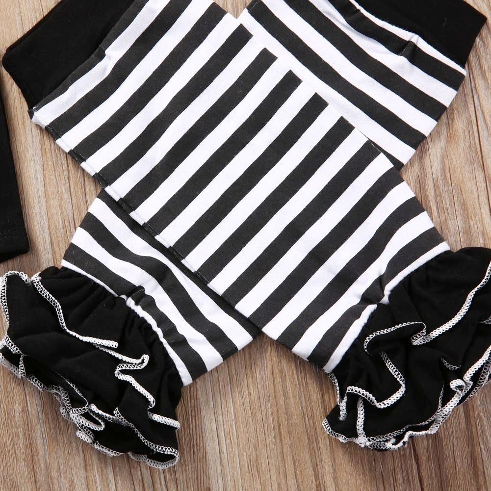 02aa9742138d Dad is My Superman Newborn Infant Baby Girls Clothes Short Sleeve Romper  Striped Legging Warmer Headwear 3PCS Outfit Clothing-in Clothing Sets from  Mother ...
