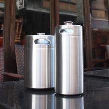 Edelstahl 304 3.6L/2L Mini Fass Bar Bier Homebrew Bier Flasche Fässer Bier Start WineFerment Herstellung Von Wein Bier