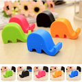 Universal Portable Elephant Shaped Phone Holder Mobile Phone Stents Stand 1Pcs
