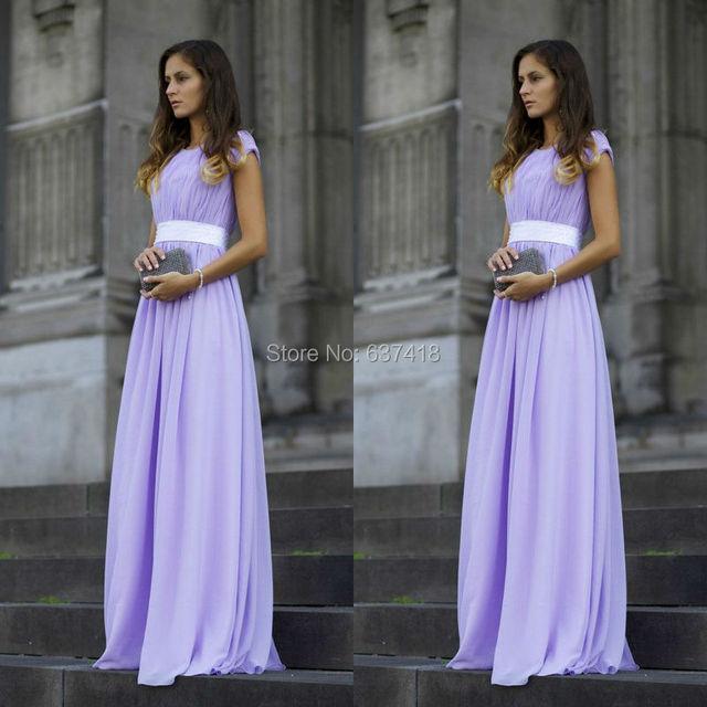 lavender lilac prom dresses long