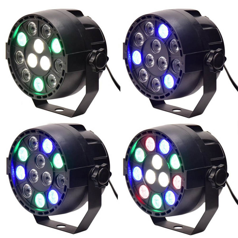 TSLEEN RGB Dance Lighting Equipment DJ PAR Lamp LED Stage Light DMX512 Controller Dancing Strobe Changing Hopping Mix Color dmx512 digital display 24ch dmx address controller dc5v 24v each ch max 3a 8 groups rgb controller