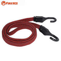 Strong Elastic Cord Rope Tie Down Belt Cargo Luggage Lashing Straps Fix For Motorcycle Bike SUV Car Roof Cargo Outdoor Camping