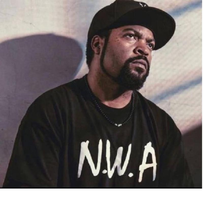 N.W.A. Men T-shirt Brand Straight Outta Movie T Shirt Women NWA Eazy E DJ