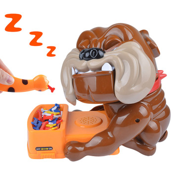 Besegad Tricky Games Toy Funny Bad Dog Bones Action Games Toy Don't Wake The Dog Bite Finger for Parent-child Game Tricky Toy tricky