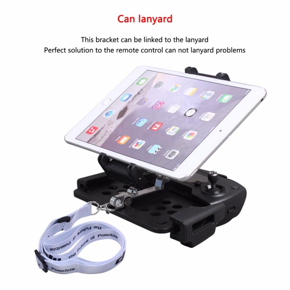 SUNNYLIFE DJI Mavic Pro/MAVIC aire plegable teléfono Smartphone Tablet soporte estiramiento soporte para Spark Control remoto