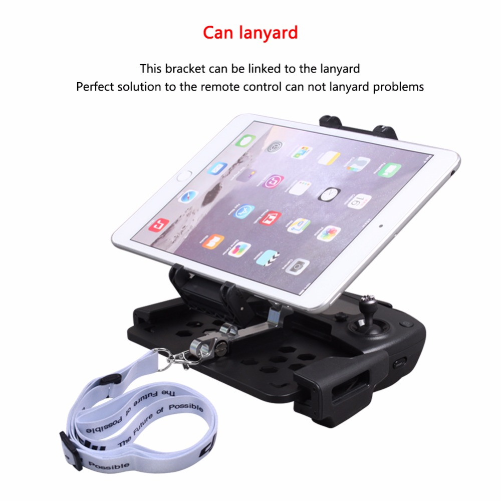 SUNNYLIFE DJI Mavic Pro /MAVIC AIR Foldable Phone Smartphone Tablet Stand Holder Stretching Bracket for Spark Remote Control
