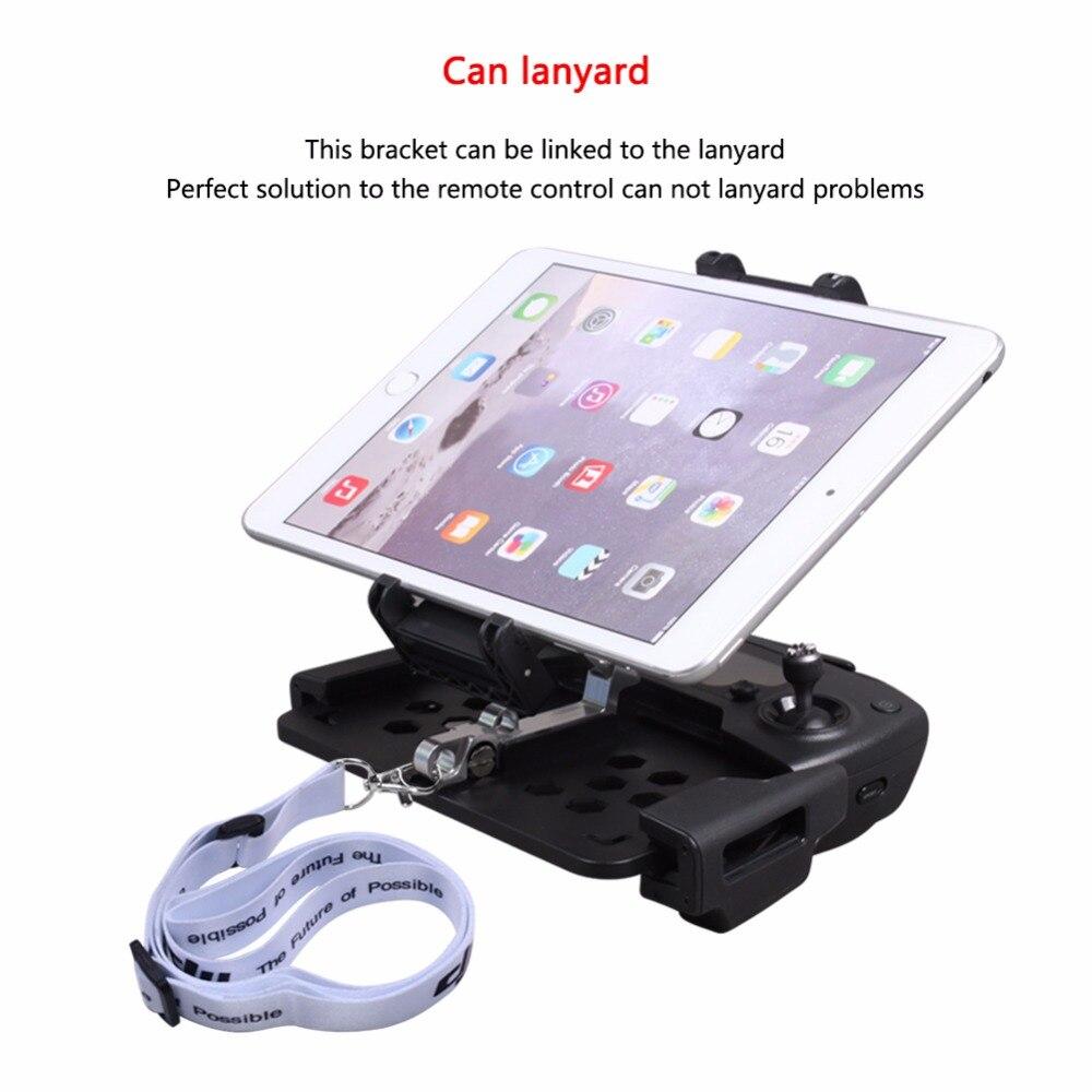 SUNNYLIFE DJI Mavic Pro/MAVIC AIR plegable teléfono Smartphone tableta soporte de estiramiento para Control remoto de chispa