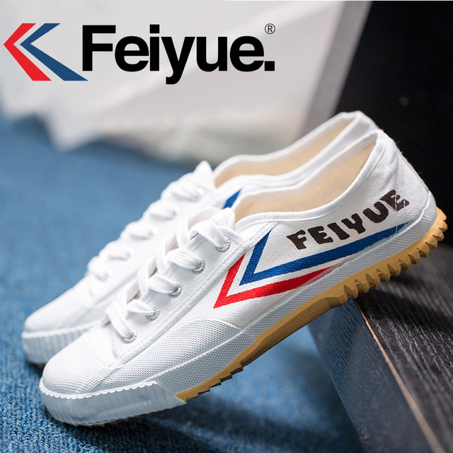 Feiyue Martial arts Tai chi Taekwondo Wushu Karate Footwear Sports Training Sneakers popular and comfortable