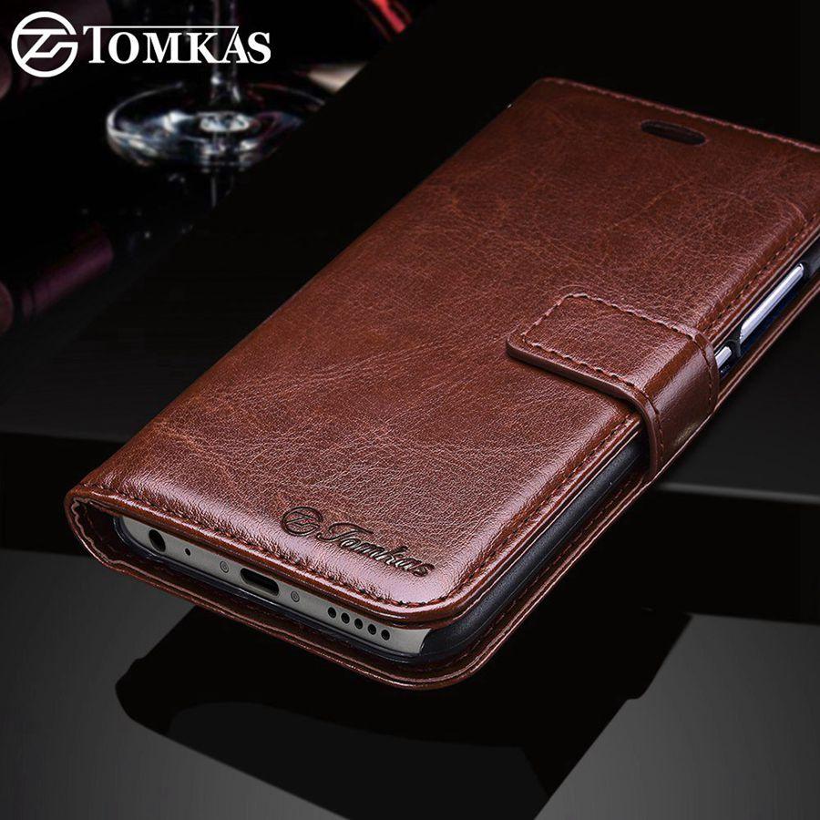 sports shoes 6ab32 0421f TOMKAS Fitted Cases Xiaomi Mi A1 Mi 5X Case Leather Wallet Luxury PU Filp  Phone Bag Cover For Xiaomi Mi5X Mi A1 Mi5X Case Coque