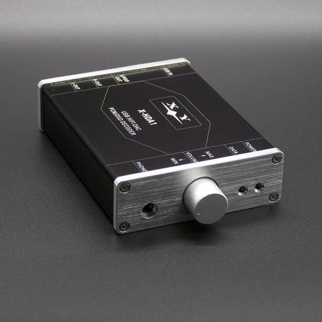SA9227 + CS4398 24BIT/192 KHZ PCM/DSD DAC USB Decodificador de Áudio de ALTA FIDELIDADE amp de Fone De Ouvido + caso