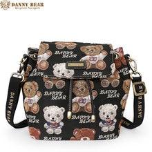 Danny Bear женский, черный Crossbody сумки модные женские большие рюкзаки Милые школьников рюкзак женский сумка Mochila