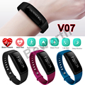 Smart Band Blood Pressure Heart Rate Monitor Bracelet V07 Sports Smart Watch Bluetooth Waterproof Wristband Fitness Tracker 2017