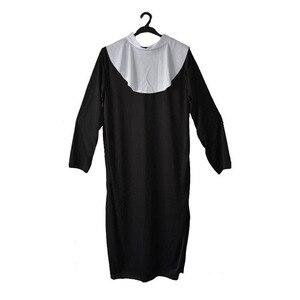 Image 2 - נשים גבירותיי דת נון אחות קוספליי תלבושות דרמה מיסיונרית תלבושות למבוגרים שמלת מסיבת פורים ליל כל הקדושים חג המולד