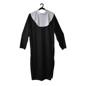 Image 2 - Women Ladies Clergyman Nun Sister Cosplay Costume Drama Missionary Costumes Adult  Dress Party  Purim Halloween Christmas
