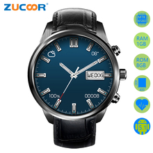 Smart Watch Android 5.1 Wristwatch GPS WiFi Smartwatch X5 Plus 1GB RAM 8GB 400*400 Pixels Support 3G SIM Card Heart Rate Monitor