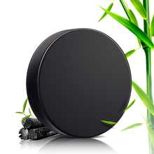 Bamboo Charcoal Handmade Soap Skin Whitening Soap Blackhead Remover Acne Treatment Face Wash Hair Care Bath Skin Care