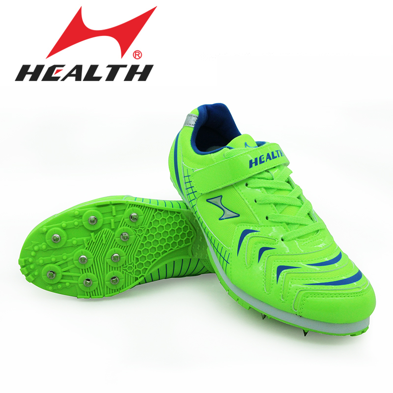 d7a6d159 US $44.8 45% OFF|Health kids track and field for men spike long jump shoes  professional training shoes mens sports shoes running spikes 35 45-in Track  ...