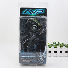 7 ''18 cm Grade Cão Estrangeiro NECA Aliens vs Predator PVC Action Figure Collectible Modelo Toy(China)