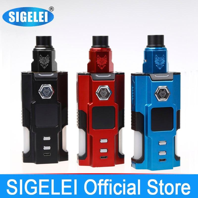 Snowwolf Vfeng Squonk vape kit MOD y atomizador de SIGELEI e - Cigarrillos electrónicos
