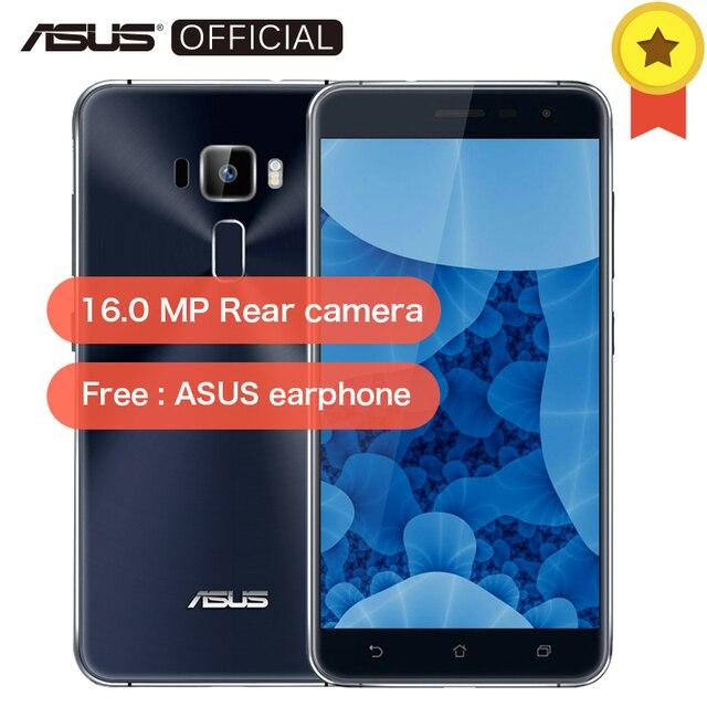 """Оригинальный Asus Zenfone 3 ZE552KL 5,5 """"Qualcomm Восьмиядерный 2,0 GHz сотовые телефоны Android 8,0 4 GB Оперативная память 64 Гб Встроенная память 16.0MP 4G мобильный телефон"""