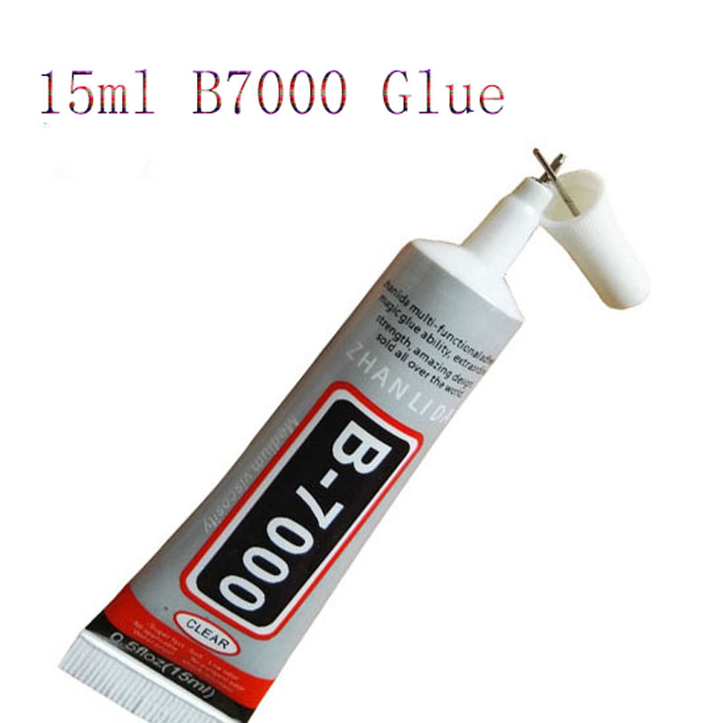 15ml B7000 Super Glue Liquid Glue Multipurpose Epoxy Resin For Flass Crystal Jewelry Nails Adhesive Mobile Phone Screen