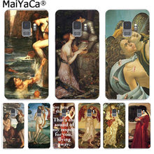 MaiYaCa Art Paintings The Birth Of Venus Coque Phone Case Cover for Samsung S9 S9 plus S5 S6 S6edge S6plus S7 S7edge S8 S8plus(China)