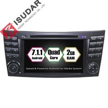 Android 7.1 2 Din 7 Pouce Lecteur DVD de Voiture Pour Mercedes/Benz/E-Classe/W211/E300/CLK/W209/CLS/W219 RAM 2G WIFI GPS Navigation Radio