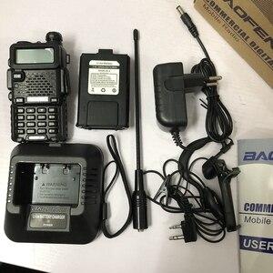 Image 4 - DM 5Rplus talkie walkie double bande DM 5R plus talkie walkie numérique 2000mAh batterie DMR + analogique 10km pour la chasse