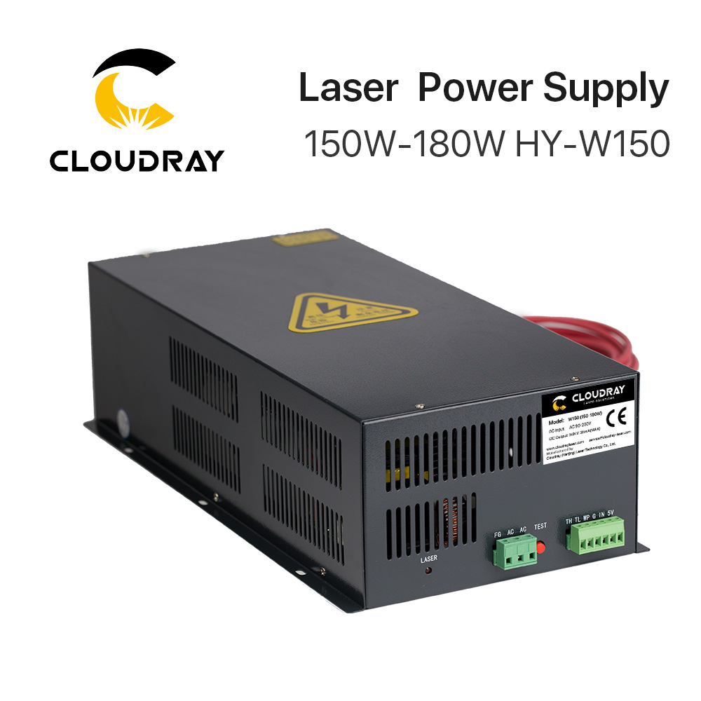 Cloudray 150-180W CO2 Laser Power Supply For CO2 Laser Engraving Cutting Machine HY-W150 T / W Series