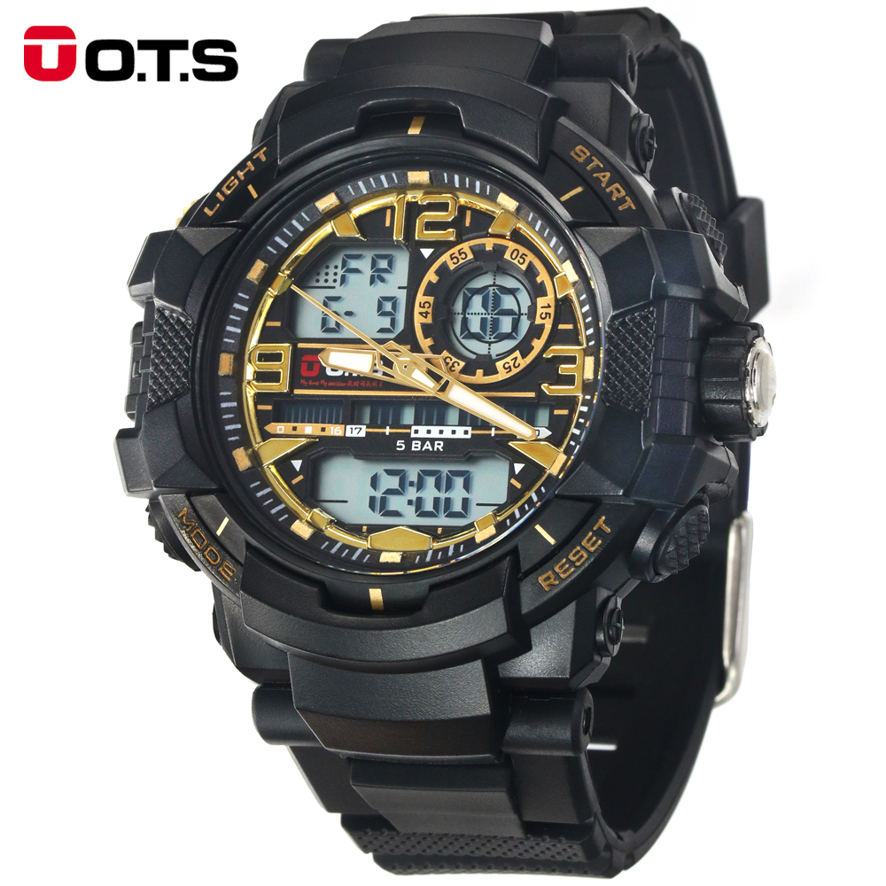 New Men s Brand Luxury T8073 G Style Shock Fun Swimming Sports Analog Digital Black Fashion