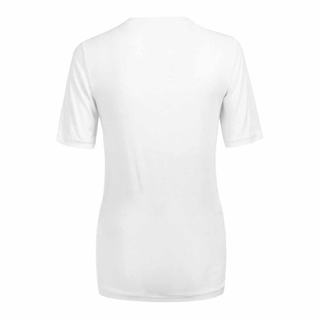 Women Plus Size Pregnant Maternity Nursing Black White O-neck Solid short sleeve Breastfeeding Summer Pure colour Cloth z0314