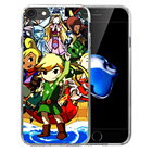 Funda Legend Of Zeldas Sheikah Slate Soft Transparent Silicone case Cover For iPhone X 8 7 7Plus 6 6S Plus 5 5S SE